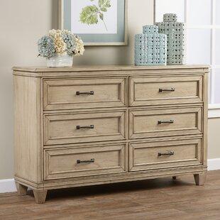 Greyleigh Industry 6 Drawer Double Dresser