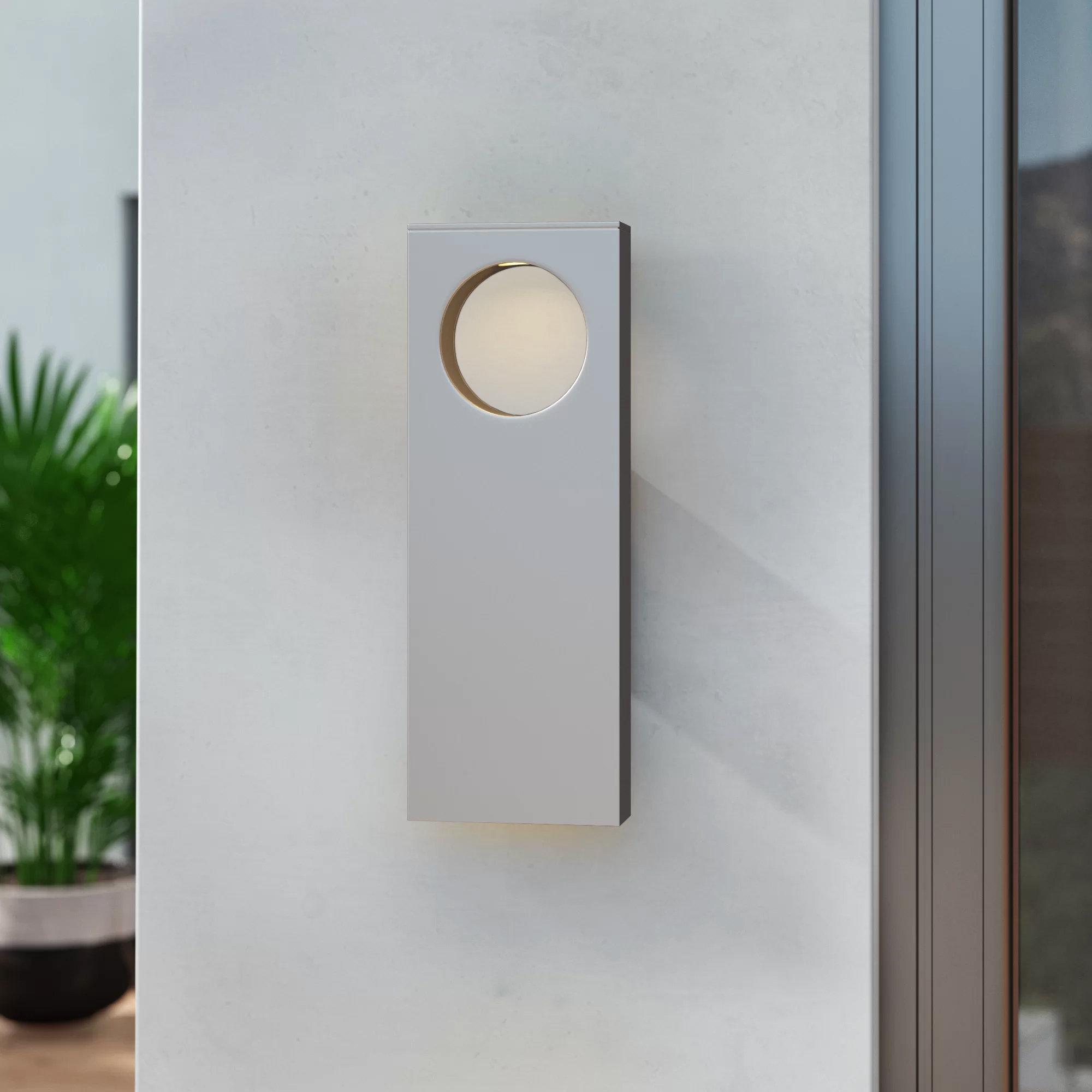 Brayden Studio Castanon Led 2 Light Outdoor Flush Mount Wayfair