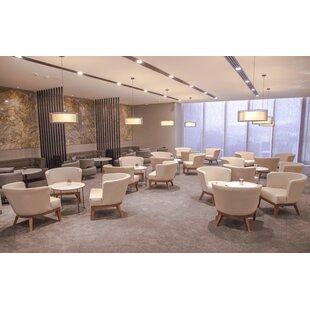 Gela Sabine Fabric Lounge Chair
