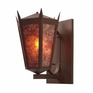 Monarch 1-Light Outdoor Sconce by Steel P..