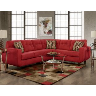 Latitude Run Leung Tufted Sectional