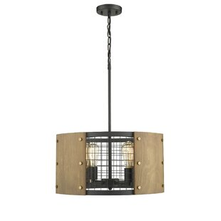 Ove Decors Finn II 4-Light Drum Pendant