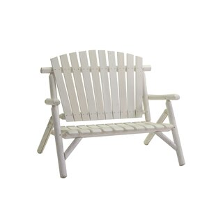 Blythdale Wooden Bench By August Grove