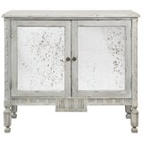 Eilis 2 Door Mirrored Accent Cabinet by Gracie Oaks