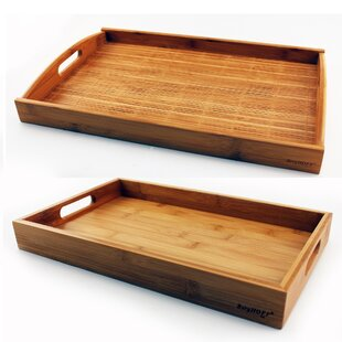 Bamboo Graduated  2 Piece Serving Tray Set by BergHOFF International
