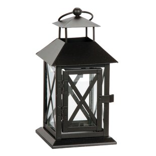 Metal Lantern By Breakwater Bay Outdoor Lighting