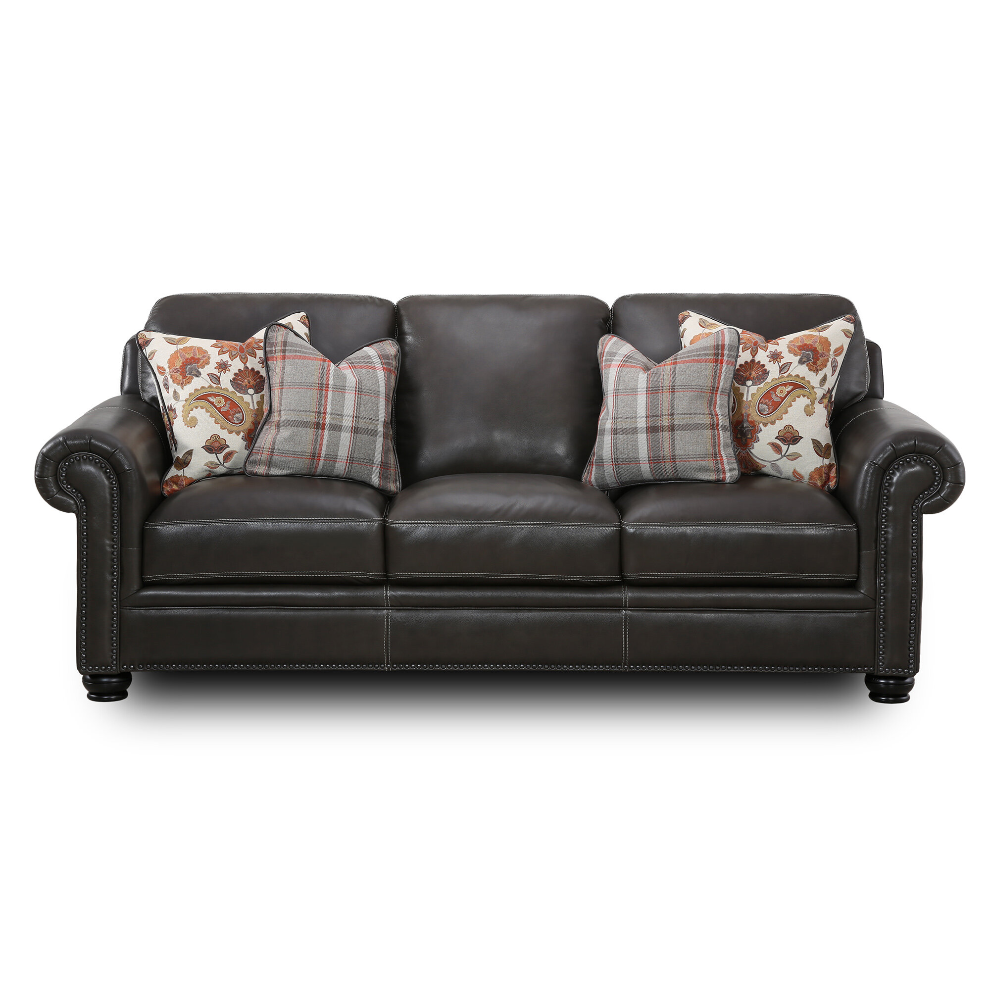Darby Home Co Stegall 89 Wide Rolled Arm Sofa Reviews Wayfair