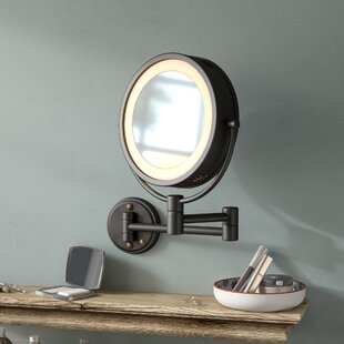 Compare prices Sedgley Dual Sided Halo Makeup/Shaving Accent Mirror By Darby Home Co