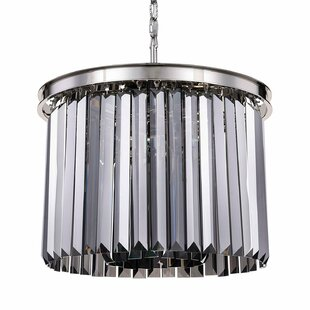 Gettys 6-Light Crystal Chandelier by Ever..