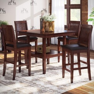High Dining Room Chairs Cool Counter Height Dining Sets You'll Love  Wayfair Design Inspiration