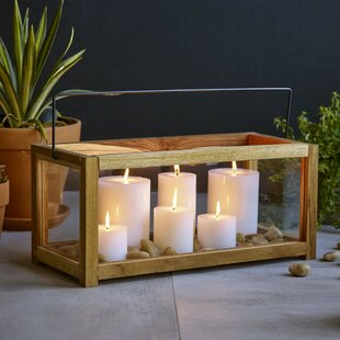 Clearance Takara Wood Lantern By Design Ideas