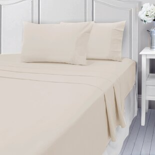 Bettencourt 400 Thread Count 100% Cotton Sheet Set