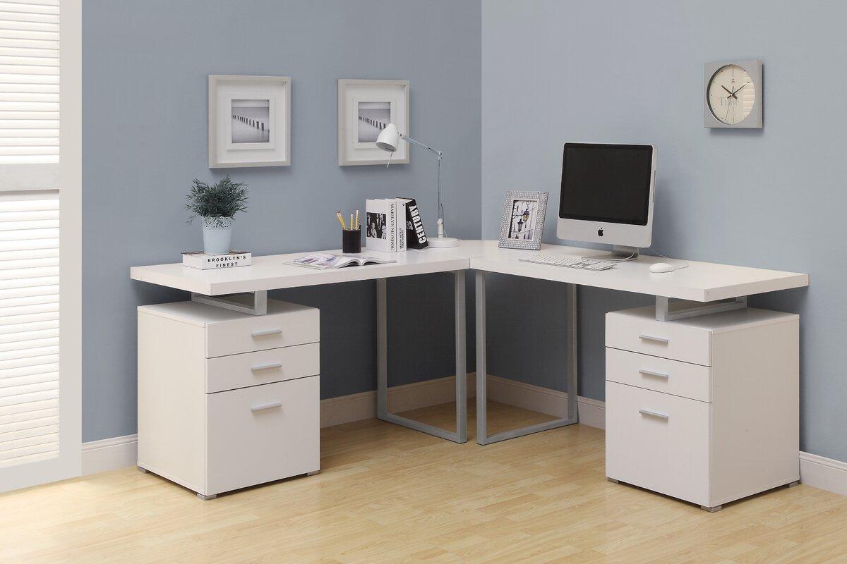 Monarch Specialties Inc L Shape Corner Desk Amp Reviews