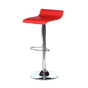 Wimberley Adjustable Height Swivel Bar Stool by Varick Gallery