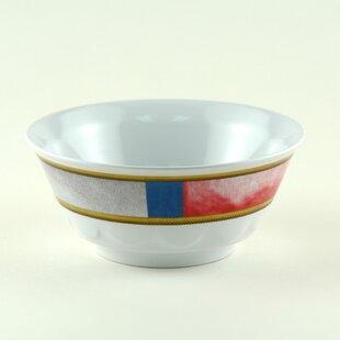 Decorated 20 oz. Melamine Non-skid Soup/Cereal Bowl (Set of 6)