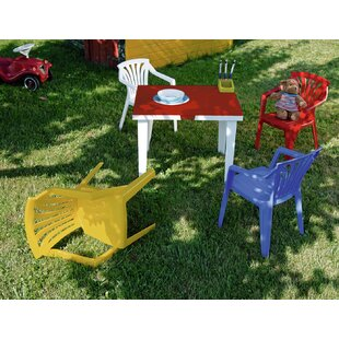 Ariel Children's 5 Piece Table And Chair Set By Sol 72 Outdoor