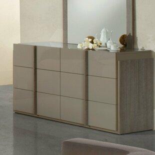 Orren Ellis Dibiase 6 Drawer Double Dresser