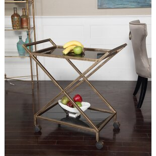 Brayden Studio Pernell Bar Cart