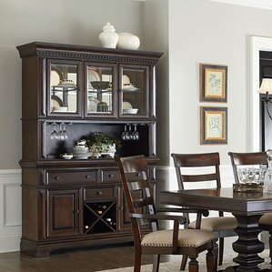 Parthena Lighted China Cabinet by Darby H..