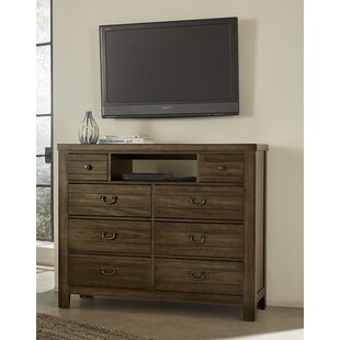 Lansdale 8 Drawer Media Chest by Loon Peak 2019 Sale