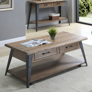 Williston Forge Grabill 2 Drawer Coffee Table