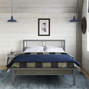 Birchanger Metal Full Platform Bed