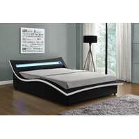 Deals on Orren Ellis Sabara Upholstered LED Storaege Platform Bed