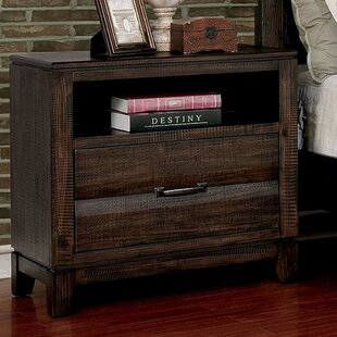 Dilys 1 Drawer Nightstand by Union Rustic