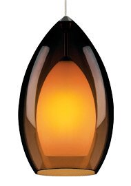 Fire Grande 1-Light Cone Pendant by Tech Lighting