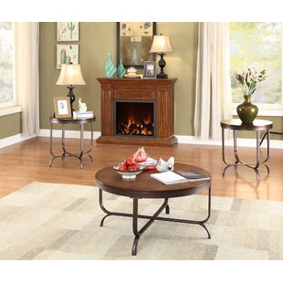August Grove Gillock 3 Piece Coffee Table Set