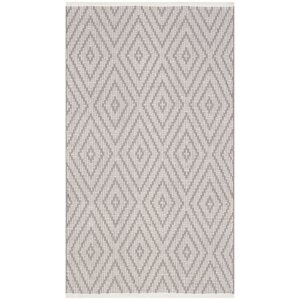 Alastair Hand-Woven Grey/Ivory Area Rug