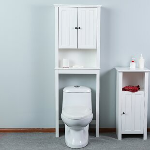 Buy clear Giovanny Wood Spacer Bathroom 23 W x 66 H Over the Toilet By Alcott Hill