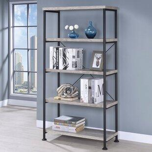 Gracie Oaks Rodborough Etagere Bookcase