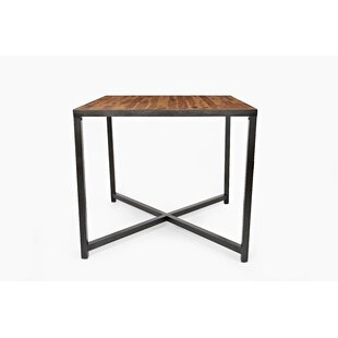 Eunice Wooden Counter Height Dining Table by 17 Stories