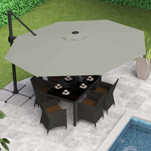 Gribble 11' Cantilever Umbrella by Beachcrest Home