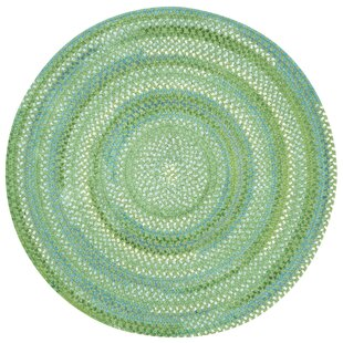 Celise Sea Monster Cotton Blue/Green Area Rug by Beachcrest Home