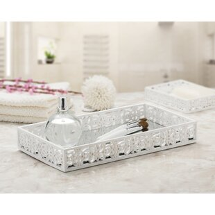 Bargain Hangah Vanity Mirror Bathroom Accessory Tray By Rosdorf Park