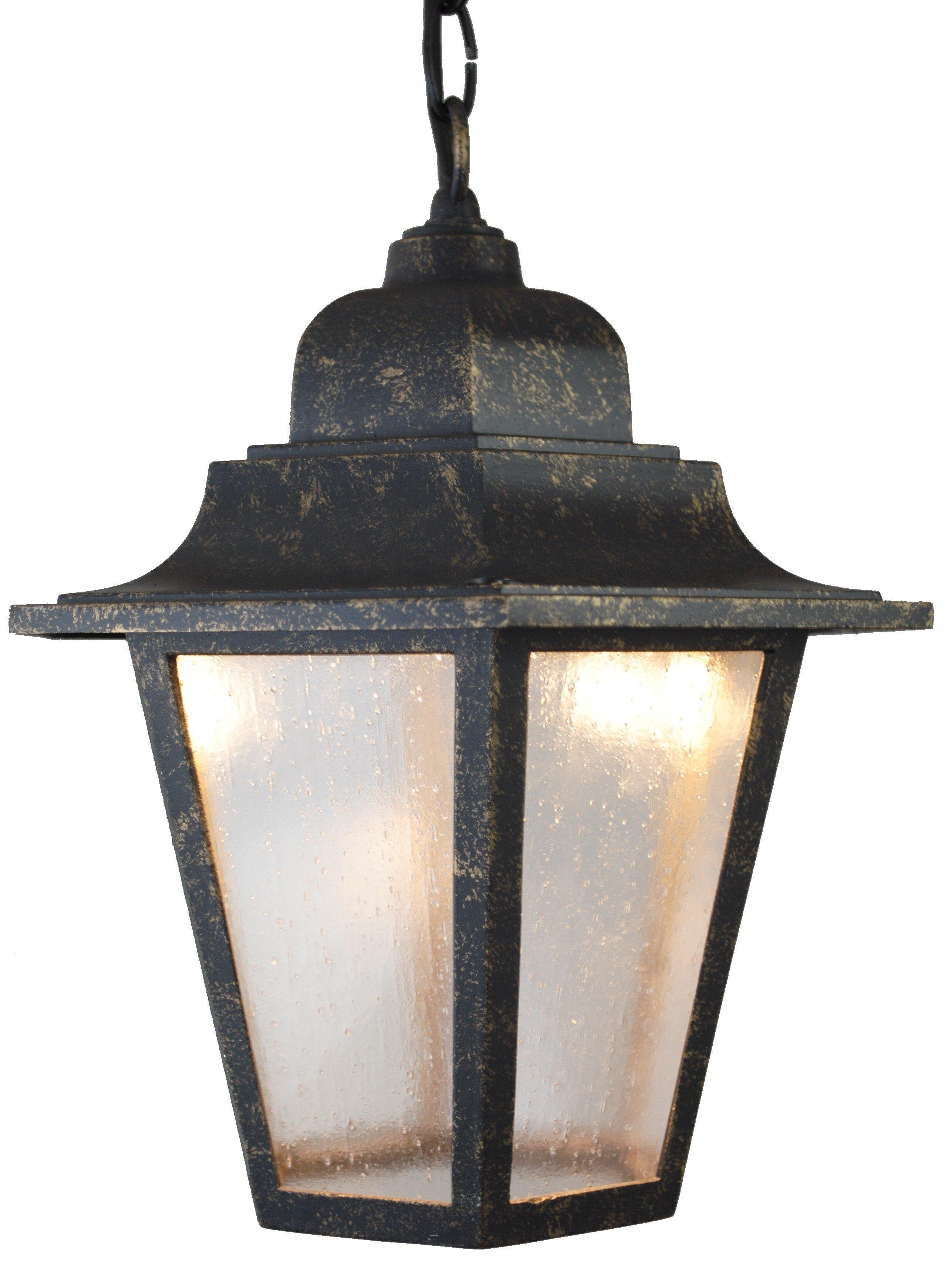 Charlton Home Flannigan 1 Bulb Outdoor Hanging Lantern Wayfair