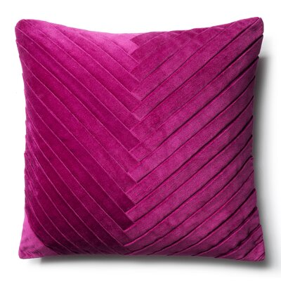 Brayden Studio Northwick Cotton Pillow Cover Color: Light Purple
