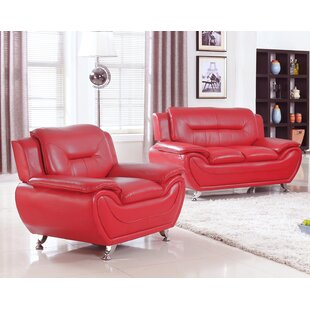 Sather 2 Piece Living Room Set..