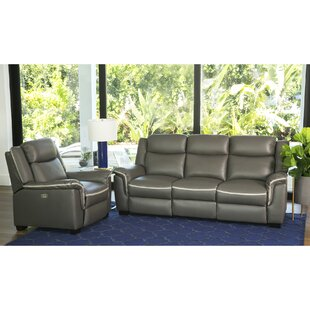 Toro Leather Configurable Living Room Set by Latitude Run