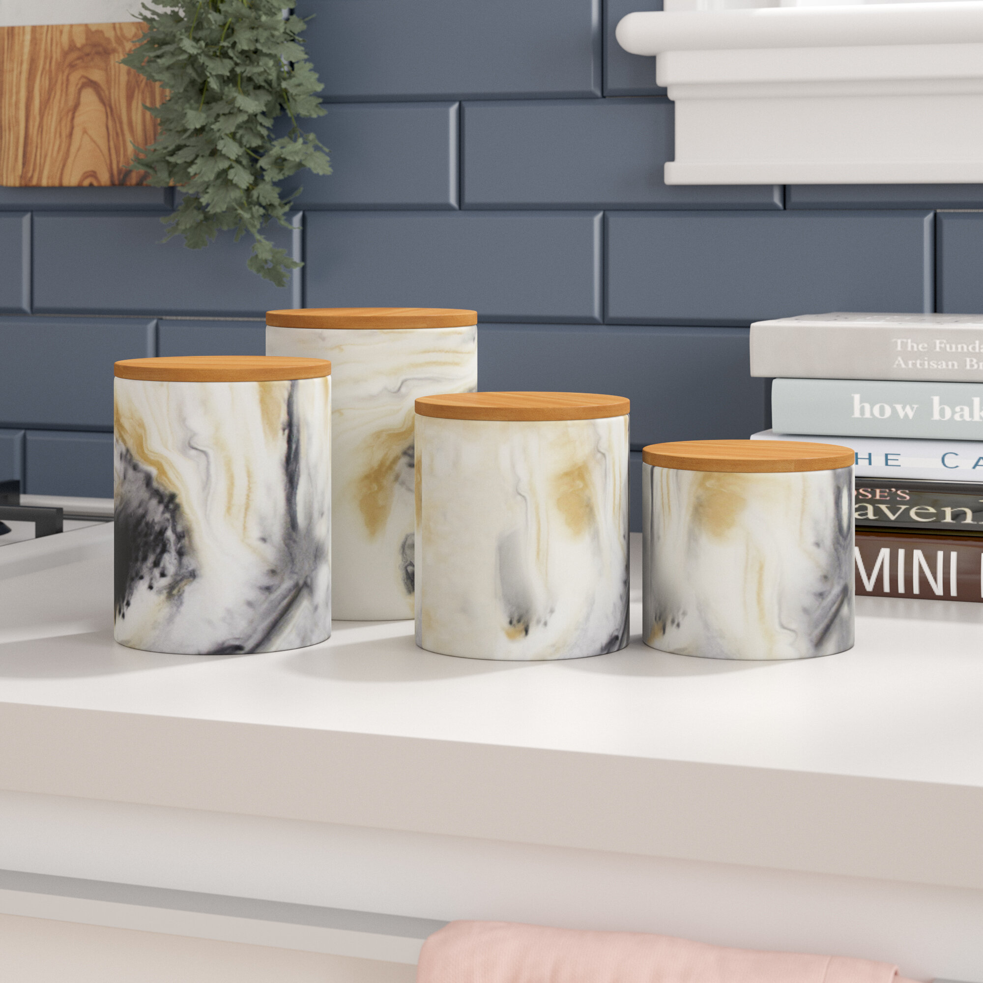 New Ideas Kitchen Canisters Wayfair