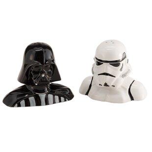 Star Wars Darth Vader and Storm Trooper Salt and Pepper Shaker Set