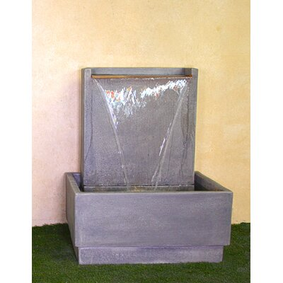 Giannini Garden Ornaments Lamina Concrete Wall Fountain