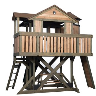 Eagles Nest 12' X 14' Playhouse By Backyard Discovery