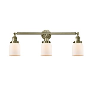 Find Aponte Bell 3-Light Vanity Light By Williston Forge