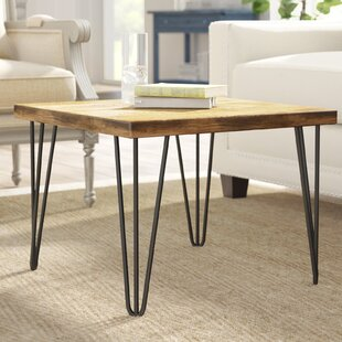 Nadin Rustic Old Elm Coffee Table by Grac..