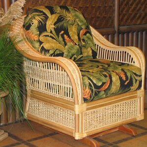 Single Glider by Spice Islands Wicker