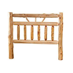 Best Deals Toucha Rustic Red Cedar Log Slat Headboard by Loon Peak