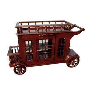 Astoria Grand Alim Wine Trolley Carriage Bar Cart